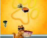Garfield food frenzy online Garfield játékok